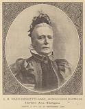 Death of Marie Henriette of Austria, Queen Consort of Leopold II, King of the Belgians