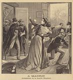 Arrest of the Humbert family in Madrid