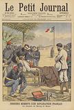 Death of French explorer the Vicomte du Bourg de Bozas