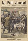 Arrest of a German spy in Nancy