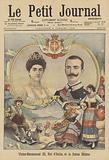 King Victor Emmanuel III and Queen Elena of Italy