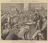 Unrest amongst French munitions workers