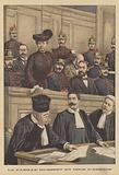 The trial of the Humbert family