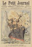 The sinking of the Russian battleship Petropavlovsk