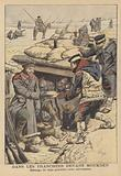 In the trenches before Mukden, Russo-Japanese War
