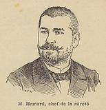 Octave Hamard, chief of the Paris police