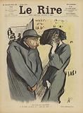 The joys of adultery. Illustration for Le Rire