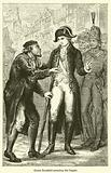 Count Rumford arresting the beggar
