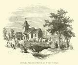 Old St Pancras Church, as it was in 1740