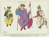 Charles le Chauve et l'empereur Lothaire