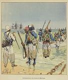 Debarquement des turcos a Majunga