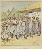 Nouba des turcos a Tananarive