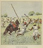 Le chasse aux boeufs sauvages
