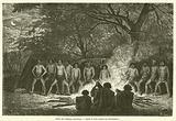 Danse des indigenes australiens