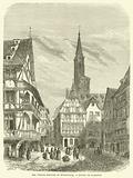 Les vieilles maisons de Strasbourg