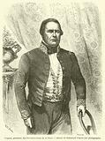 Urquiza, president des Provinces-Unies de la Plata
