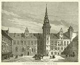 Cour interieure du chateau de Kronborg