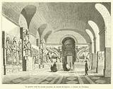 La grande salle du musee assyrien, au musee du Louvre