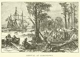 Arrival at Jamestown