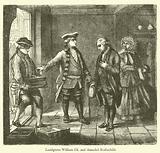 Landgrave William IX and Amschel Rothschild
