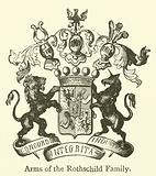 Arms of the Rothschild Family
