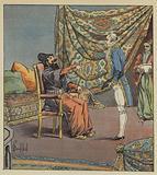 Asker-Khan, ambassadeur de Perse, prend de Marbois, president de la Cour des comptes, pour le medecin