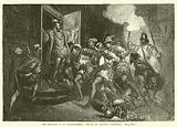 The Massacre of St Bartholomew, Attack on Coligny's Lodgings