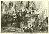 Action between the Spanish Fleet and the Ships of the Sea Beggars