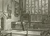 Shakspeare's Tomb, Stratford Church
