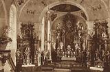 Parish-Church, Oberammergau, Interior of the Church