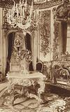 "Bavarian King's-Castle of Linderhof, Dining Room with ""Tischlein deck dich!"""