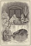 Prior William provides a feast for the king and the bishop