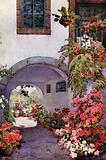Azaleas in a Portuguese Garden