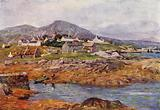 The Village of Roundstone, County Galway