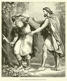 Ulysses making himself known to his aged Father