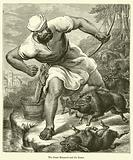 The Giant Morgante and the Boars