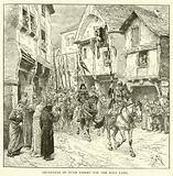Departure of Duke Robert for the Holy Land