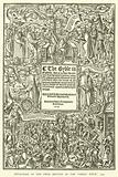 """Title-page of the first edition of the """"Great Bible,"""" 1539"""
