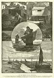 At the Thames Mouth, Shrimping