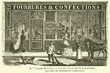Mme Virginie Maillard, au Regent, boulevard de la Madeleine, specialite de fourrures et confections