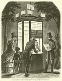 Kiosques lumineux, Nouveaux bureaux pour la vente des journaux sur les boulevards
