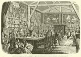 Exposition des arts anciens, a Bordeaux, salon des porcelaines et cristaux anciens