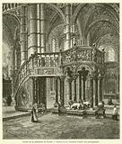 Chaire de la cathedrale de Sienne