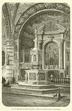 Les fonts baptismaux, au baptistere de Sienne