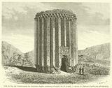 Tour de Rey sur l'emplacement de l'ancienne Raghes, tombeau presume d'un roi mogol