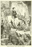 Perkin Warbeck's ride through London