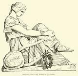 Sappho, the last work of Pradier