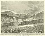 Inclined Plane on the Railway from South Hetton to Seaham Harbour, showing the manner in which …
