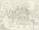 Illustration for Goethe's Faust