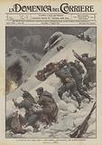 Le trovate dei nostri alpini, barili e slitte esplosive fatti precipitare sulle posizioni austriache